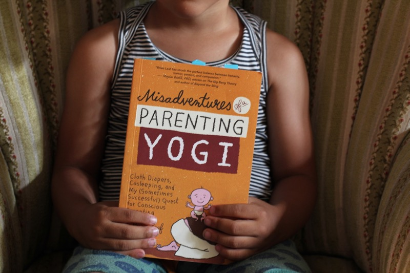 Misadventures of a Parenting Yogi by Brian Leaf